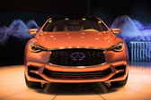 Infiniti Q30 Concept car on display at the LA Auto Show. — Stock Photo