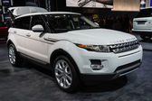Land Rover Range Rover car on display at the LA Auto Show. — Stock Photo