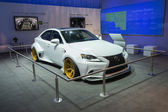 Lexus DeviantArt car on display at the LA Auto Show. — Stock Photo