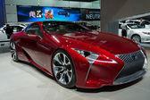 Lexus lf-lc-display auf der la auto show. — Stockfoto