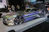 Mercedes-Benz AMG Vision Gran Turismo car on display at the LA A — Stock Photo