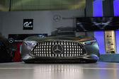 Mercedes-Benz AMG Vision Gran Turismo car on display at the LA A — Stok fotoğraf