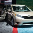 Постер, плакат: Toyota Sienna Auto Access Seat car on display at the LA Auto Sho