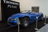 Youabian puma samochód na wyświetlaczu na la auto show. — Zdjęcie stockowe