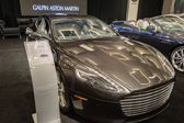 Aston Martin Rapide S car on display at the LA Auto Show. — Stock Photo