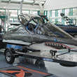 Boat on display at the Los Angeles Boat Show on February 7, 2014 — Стоковое фото