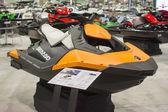 Jet Ski on display at the Los Angeles Boat Show on February 7, 2 — Stock Photo