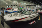 Master Craft II boat on display at the Los Angeles Boat Show on — Stock Photo