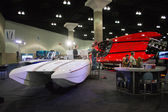 M-31 M-41 boat on display at the Los Angeles Boat Show on Februa — Stockfoto