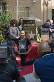 Ray Parker Jr honored on the Hollywood Walk of Fame — Stock Photo