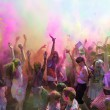 People celebrating Holi Festival of Colors. — Foto de Stock   #42295193