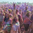 People celebrating Holi Festival of Colors. — Stock Photo #42295313