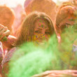 People celebrating Holi Festival of Colors. — Foto de Stock   #42295551
