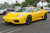 Ferrari on exhibition at the annual event Supercar Sunday Ferrari Day — Stock Photo