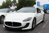 Maserati on exhibition at the annual event Supercar Sunday — Stock Photo