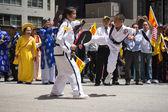 チベット人は 20 の国際文化パレード ニューヨークでチベットを表される — ストック写真