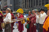 Tibetans Represented Tibet in the 20th International Cultures Pa — Stock Photo