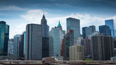 New York City Manhattan cityscape — Stok fotoğraf