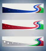 Banners stars — Stock Vector