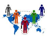Związek ludzi biznesu — Wektor stockowy