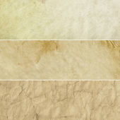 Beige Vintage Backgrounds Collection — Stock Photo