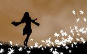 Autumn Concept Illustration — Stock Photo