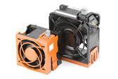 Hot swap serveru ventilátory — Stock fotografie