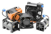Various Cooling Fans — Stock Photo