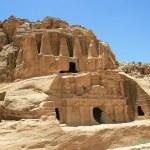 Old Rock Formation in Jordan — Stock Photo