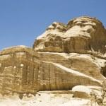 Ancient Rock Formation in Jordan — Stock Photo