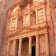 Treasury Tomb in Petra Nabataeans — Stock Photo