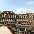 Inside View of Roman Coloseum 4H Pano - Foto Stock