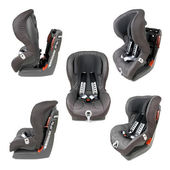 Safety Car Seat Collection — Stock Photo