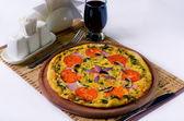 Délicieuse pizza — Photo
