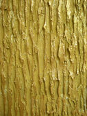 Texture plaster gold color — Stock Photo