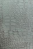 Texture decorative plaster crocodile — Stock Photo
