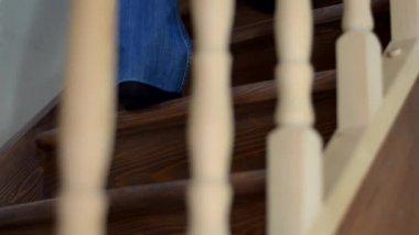 лестницы — Стоковое видео