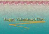 Card Valentine's Day with a pattern — Foto de Stock