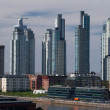 Royalty-Free Stock Photo: Skyscrapers, Puerto Madero, Buenos Aires, Argentina