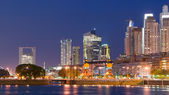 Puerto Madero at Night — Stock Photo