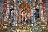 Altar inside church — Stock Photo
