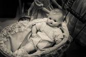 Evil Baby Doll — Stock Photo
