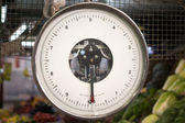 Grocery store scale — Stock Photo