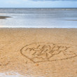 Happy Mother's Day written in the sand — Stock Photo #23074848