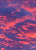 Super Bright Pink Clouds — Stock Photo