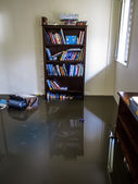 Room with Flood Water — Stock Photo