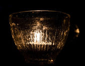 Tealight in Glass — Stockfoto