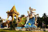 Boat in buddha legend — Stock Photo