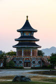 Chinese pagoda in Thailand temple — Stockfoto