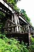 Railway over River Kwai Thailand — Stock Photo